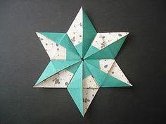 No rastro da memória (Santa Rita do Sapucaí): A arte do Origami - Estrela de Natal I