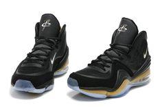 Hardaway Penny shoes 2012-Air Penny 5 Phoenix Black Gold