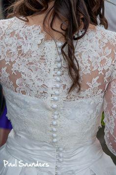 back detail Chantilly lace bolero