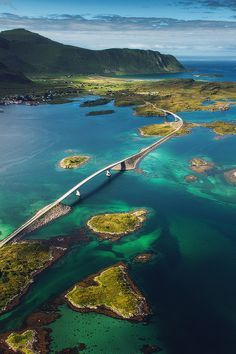 Lofoten islands // Fredvang bridges // Cessna flight One of my dreams came true yesterday. I had a flight over Lofoten islands, above all of my well-known places. Beautiful Places In The World, Places Around The World, Oh The Places You'll Go, Travel Around The World, Places To Travel, Travel Destinations, Places To Visit, Around The Worlds, Travel Tips