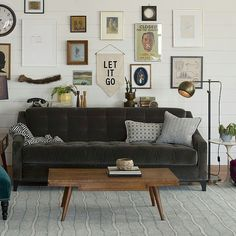 schoolhouse electric - fall 2013 - Home Decore My Living Room, Home And Living, Living Room Decor, Living Spaces, Rock N Roll Living Room, Plywood Furniture, Living Room Furniture, Modern Furniture, Furniture Design