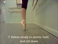 Ask a Ballerina- Nikki's Pointe Exercises #1 - YouTube