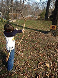 Amazon.com : Bow and Arrow with Quiver Set, Bow for Practice, Wooden Bow and Arrow, Cowboy and Indians, Crossbow, Brave, Children's Wooden Bow and Arrow Set; Kids Youth Toy-for Archery Hunting Playing-rubber Tip for Arrows; Bow and Arrow Target Set; Archery : Sports & Outdoors