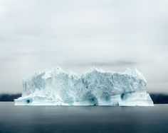 'Ilulissat 06, 07/2014.' © Olaf Otto Becker. Image courtesy of Huxley-Parlour Gallery.