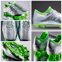 super popular 75392 84323 adidas X 15.1 FG AG Eskolaite - Silver Metallic Solar Green Core Black