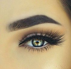 How to Get The Perfect Bomb Brows For Beginners - Hairstyles Love My Makeup, Make It Simple, Make Up, Brow Tutorial, Perfect Brows, Celebrity Hairstyles, Eyebrows, How To Get, Eyes