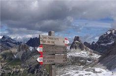 Concorso La Stampa LA MIA MONTAGNA Crocevia alle Tre Cime di Lavaredo (BL) - Giugno 2013  Una bellissima passeggiata tra le meraviglie delle Dolomiti  Daniela Coragliotto