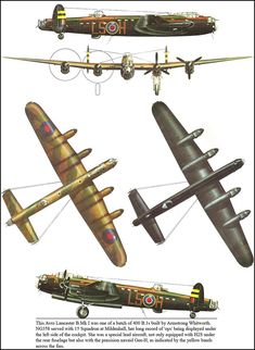 Ww2 Aircraft, Aircraft Carrier, Military Aircraft, Air Fighter, Fighter Jets, Illustration Avion, Commonwealth, Lancaster Bomber, Old Planes
