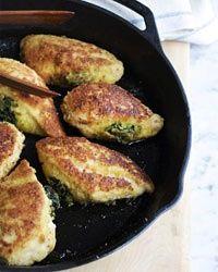 Basil-Stuffed Chicken Breasts
