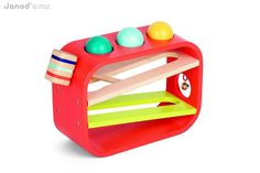 Janod Ball Bounder. Stores together and is fun. Check out the bell :).