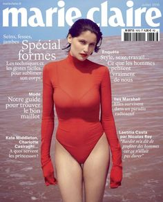 MARIE CLAIRE France Laetitia Casta by Nick Hudson with styling from Anne Sophie Thomas x the July 2016 issue of Marie Claire France Hair by Cyril Laloue and makeup by Helene Vasnier Laetitia Casta, Sophie Thomas, Marie Claire France, Fashion Magazine Cover, Magazine Covers, Bianca Balti, French Actress, Cover Photos, Mannequin