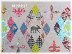 Broderie - MSG inspired Quilts
