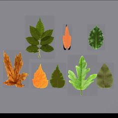 leaf opacity 3d max - leaf model... by BARAKA