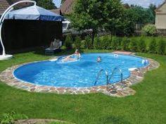 bildergebnis für poolgestaltung teilversenkt | pool & schwimmteich, Gartenarbeit ideen
