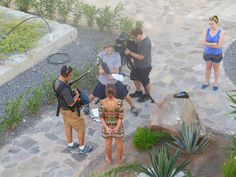 Find out what popular TV show was filming in Loreto Bay, just yards from our door.
