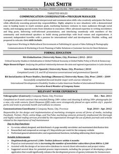 click here to download this communication coordinator resume template httpwww