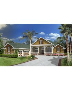 AmazingPlans.com House Plan H2797B - Colonial, Contemporary, Country, Southern, Traditional, Victorian
