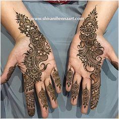 No photo description available. Pretty Henna Designs, Full Mehndi Designs, Finger Henna Designs, Latest Bridal Mehndi Designs, Arabic Henna Designs, Mehndi Design Pictures, Mehndi Designs For Girls, Wedding Mehndi Designs, Mehndi Designs For Fingers