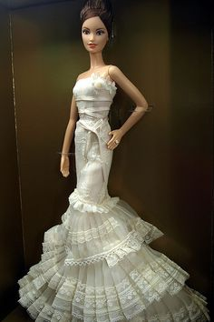 Vera Wang Barbie Bride