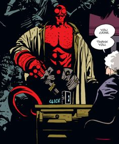 mike mignola seed of destruction - Google Search