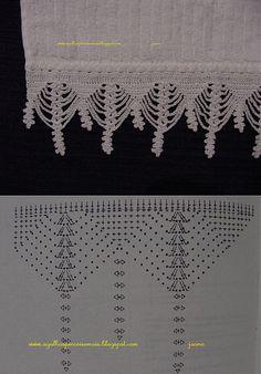 "Border Crochet ""Klubka.Net - Tutto su uncinetto |"
