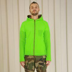 Griffin Mesh Hoodie - Lime £210 http://www.griffin-studio.com/welcome/product/mesh-hoodie-lime/  #griffin #griffinstudio #menswear #sportswear #fashion #lovelife #lovesummer #loveland #podlife