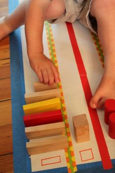 Shape Activity: Sorting Blocks as a Graph