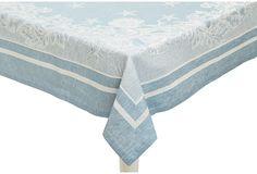 Mediterranean Tablecloth, Blue on OneKingsLane.com
