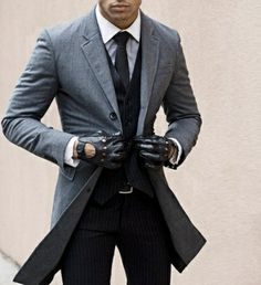 This, all men should dress like THIS. Not just Canadians & British, but ALL - Real Men Wear Suits