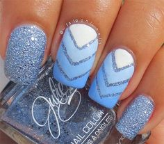 winter+nails+2015 | 15 Simple Winter Nail Art Designs, Ideas, Trends & Stickers 2015 ...