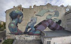 Arte urbano fantástico. | Quiero más diseño
