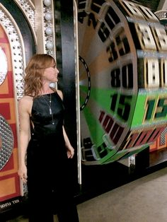 "Alicia Witt (Paula) visiting The Price is Right set after Talking Dead (""The Same Boat"")"