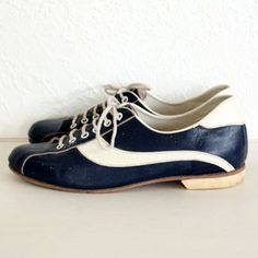 Normally in not into mod but these shoes. These shoes... Recycled Fashion: All Hail the Bowling Shoe