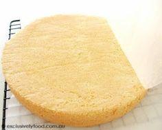 Exclusively Food: Sponge Cake Recipe