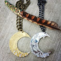 The Lunette Necklace by #SavageByBritt $27 each