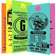 Printed Door Hangers Easily create awesome printed door hangers with Cheapdoorhanger's professional designers hurry up now. Printing Companies, Online Printing, Card Printing, Door Hanger Printing, Custom Door Hangers, House Wiring, Custom Vinyl Banners, Branding Services, Graphic Design Services