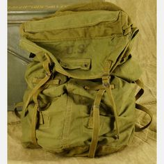 US Military Rucksack now featured on Fab.