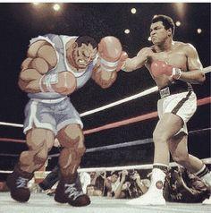 Muhammad Ali vs Balrog - Fight!