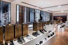 selfridges shoe gallery | london | by vincent van duysen.