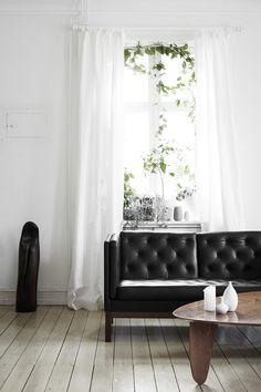 Greens inside of white - via Coco Lapine Design