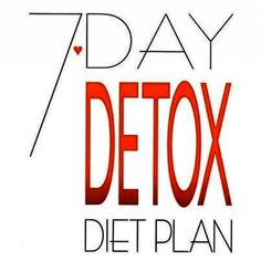 7 Day Detox- Cabbage Soup Diet. I actually tried this. Soup is pretty good. I spiced it up. Lost 9 lbs in one week. Side effect: severe meanness :)