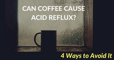 Most of the world's population contends with acid reflux to some degree.  While some people experience a mild burning sensation in their mid-chest area after eating spicy foods, other people suffer day and/or night with serious internal burning sensations that span from stomach to throat.  Those who deal with the more constant and serious version of acid reflux often have trouble pinpointing the culinary culprit of their discomfort.  If you fall into the latter category and drink coffee, t