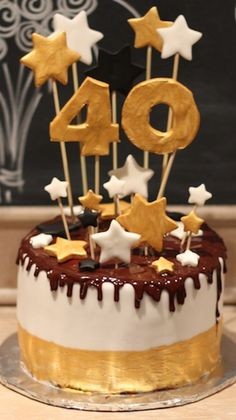 Love of Cake - Inspirieren Probieren Teilen : Ein Törtchen zum 40. Geburtstag
