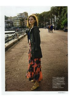 Tu Style June 2016- Pennyblack dark green parka