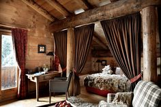 Winter Wonderland Hotel in the French Alps: Les Fermes de Marie | The English Room