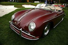 Candy apple Porsche 356 Speedster Porsche 356 Speedster, Porsche 356a, Porsche Sports Car, Porsche Cars, Cool Car Pictures, Pt Cruiser, Cool Sports Cars, Car In The World, Car Wheels