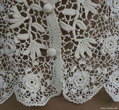 ergahandmade: Crochet Lace Top + Diagrams