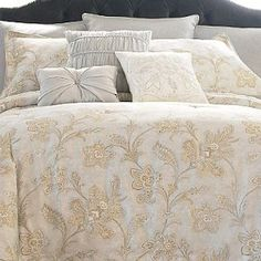 Cindy Crawford Vale Jacobean Bedding set-- love it