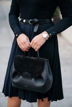 Polene Leather Bag | bows & sequins