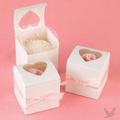 Cupcake Wedding Favor Boxes [82111 Buy Cupcake Favor Boxes] : Wholesale Wedding Supplies, Discount Wedding Favors, Party Favors, and Bulk Event Supplies